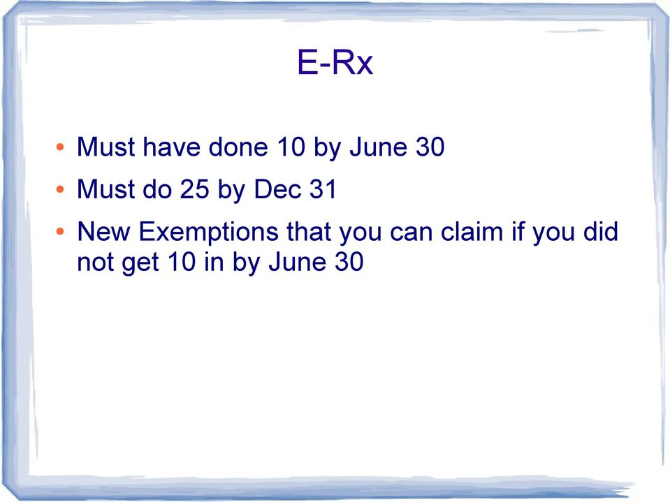 Exemptions that you can claim