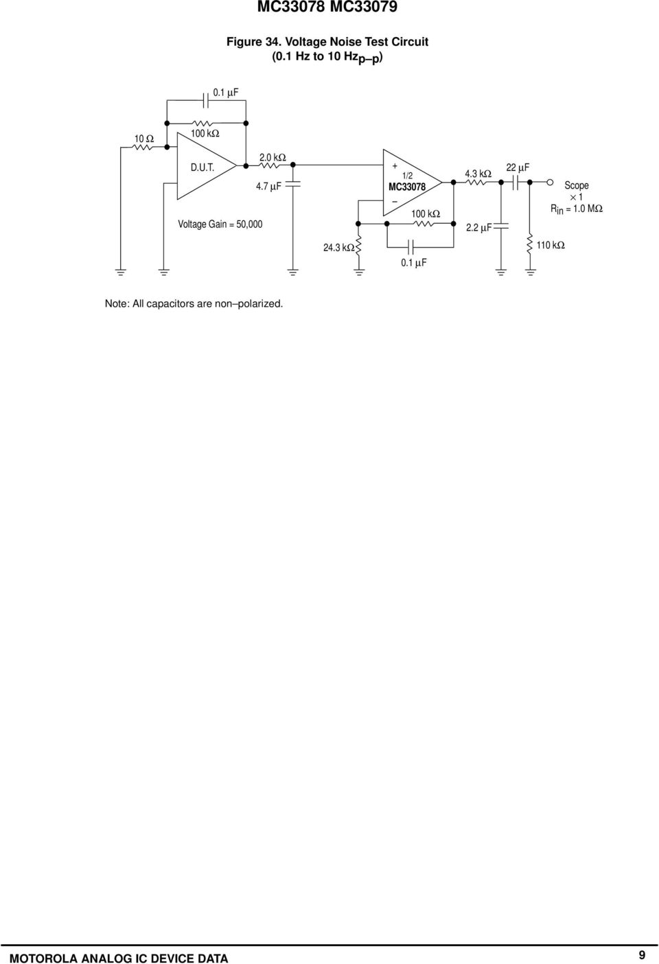 Dual Quad Low Noise Operational Amplifiers Pdf Tl082 Amplifier Schematic 7 F Voltage Gain 5 2 Mc3378 K 43