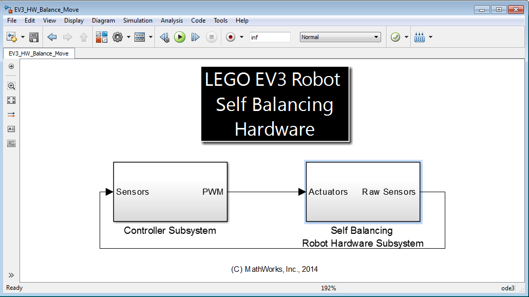 LEGO MINDSTORMS EV3 Programming using Simulink Brian McKay