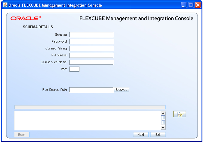Oracle FLEXCUBE Universal Banking 12 0 RAD Installation and