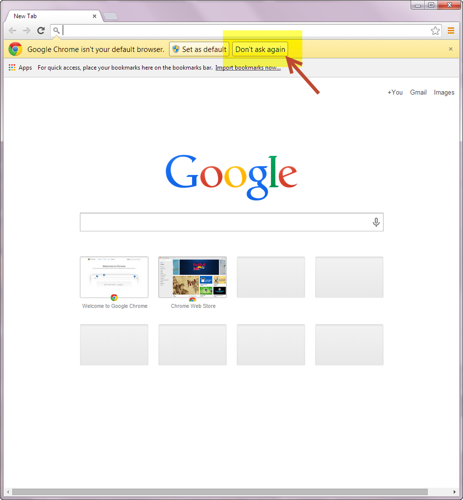 How to install the Google Chrome web browser on an MSD