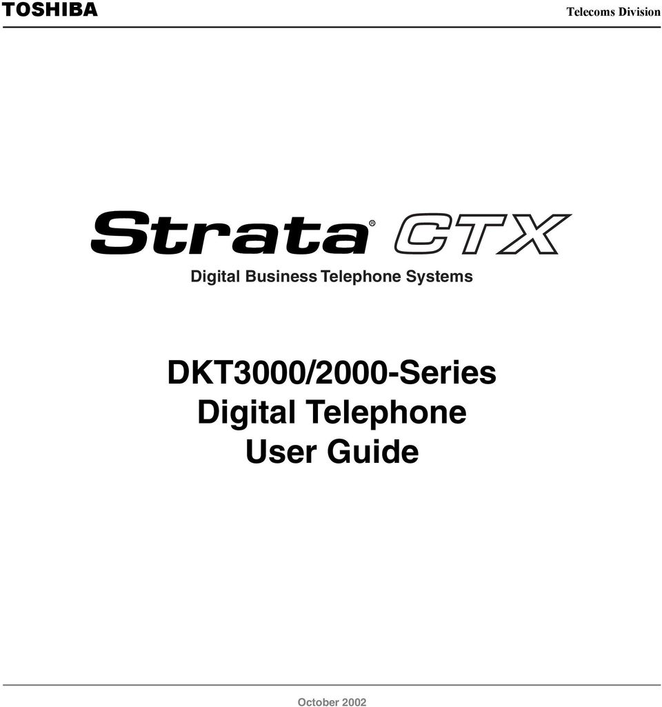 Systems DKT3000/2000-Series