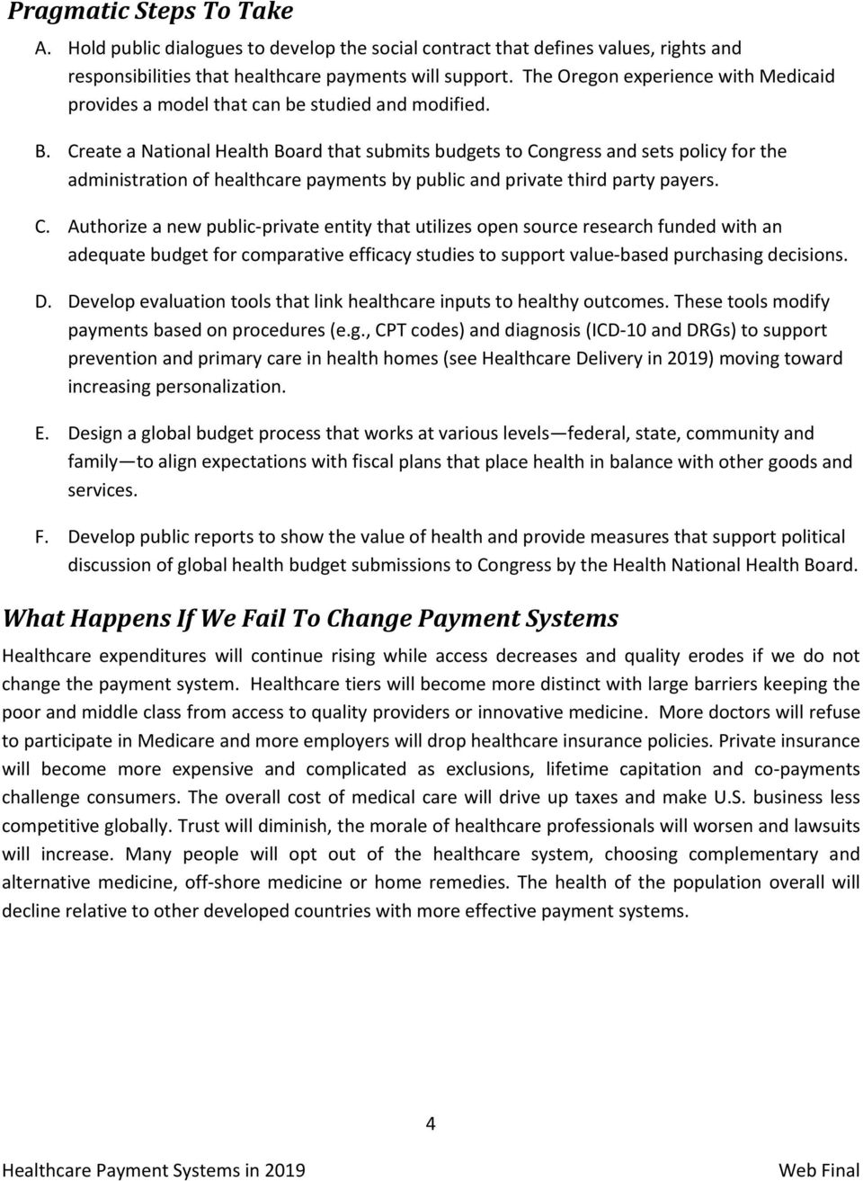 third party payment system healthcare
