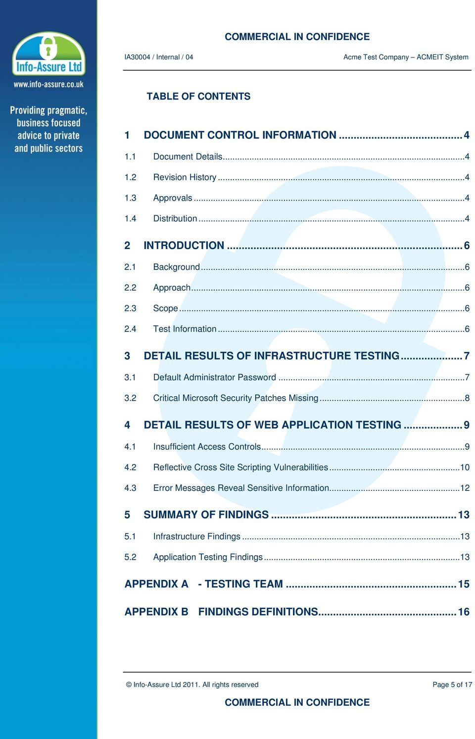 Penetration Test Report - PDF