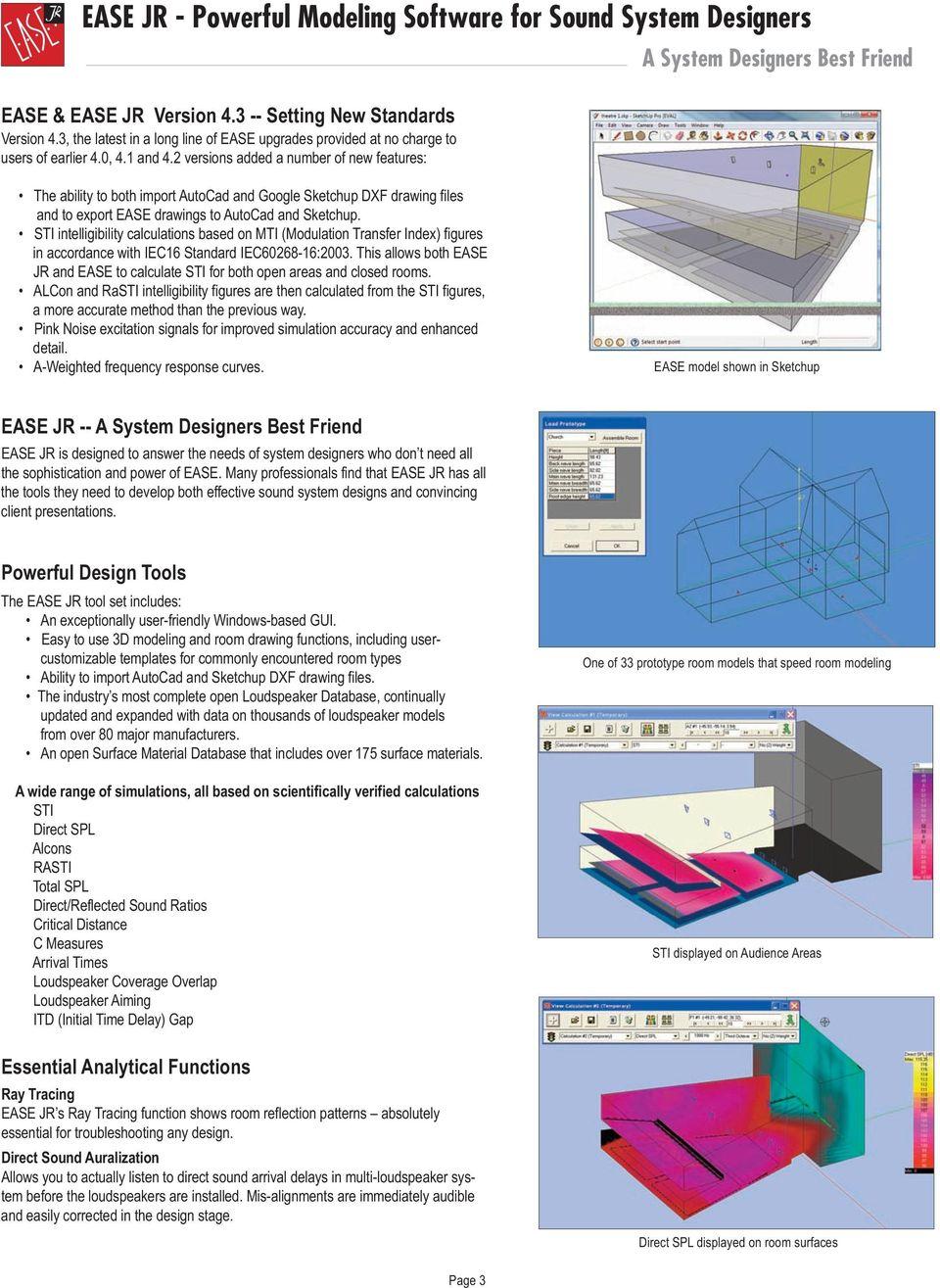 Electro acoustic simulation software for integrators engineers 2 versions added a number of new features a system designers best friend the ability fandeluxe Images