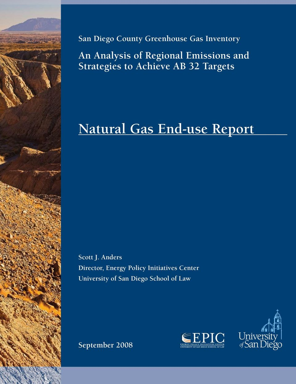Natural Gas End-use Report Scott J.