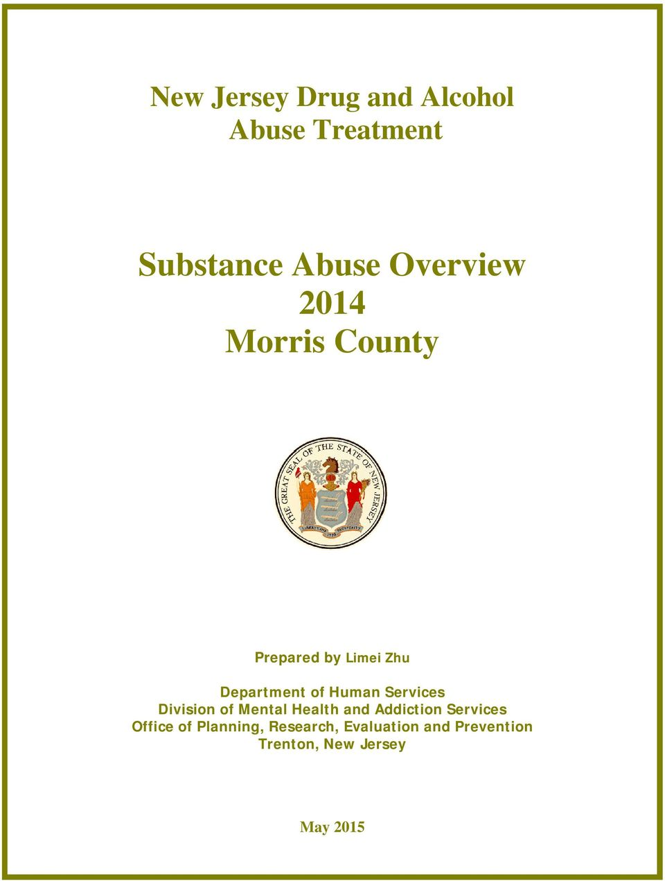 Human Services Division of Mental Health and Addiction Services