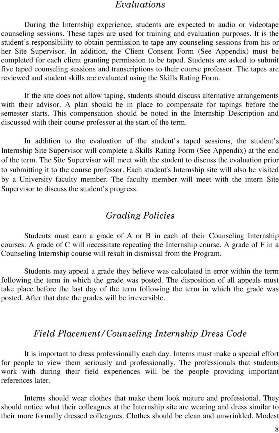 professor dating student policy