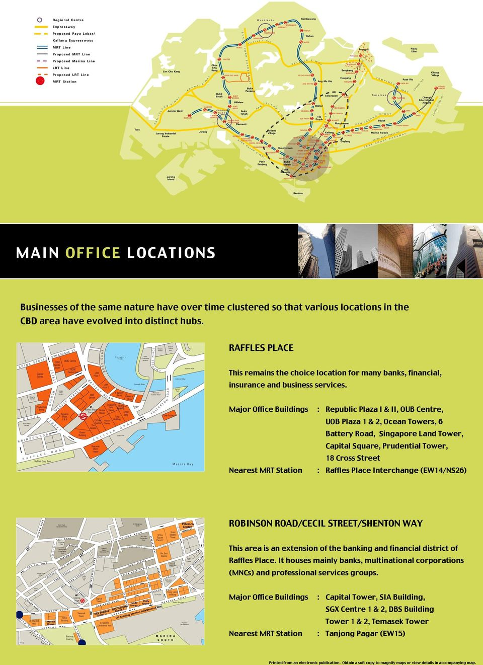 Guide LEASING OFFICE PREMISES IN SINGAPORE BUSINESS SPACE - PDF