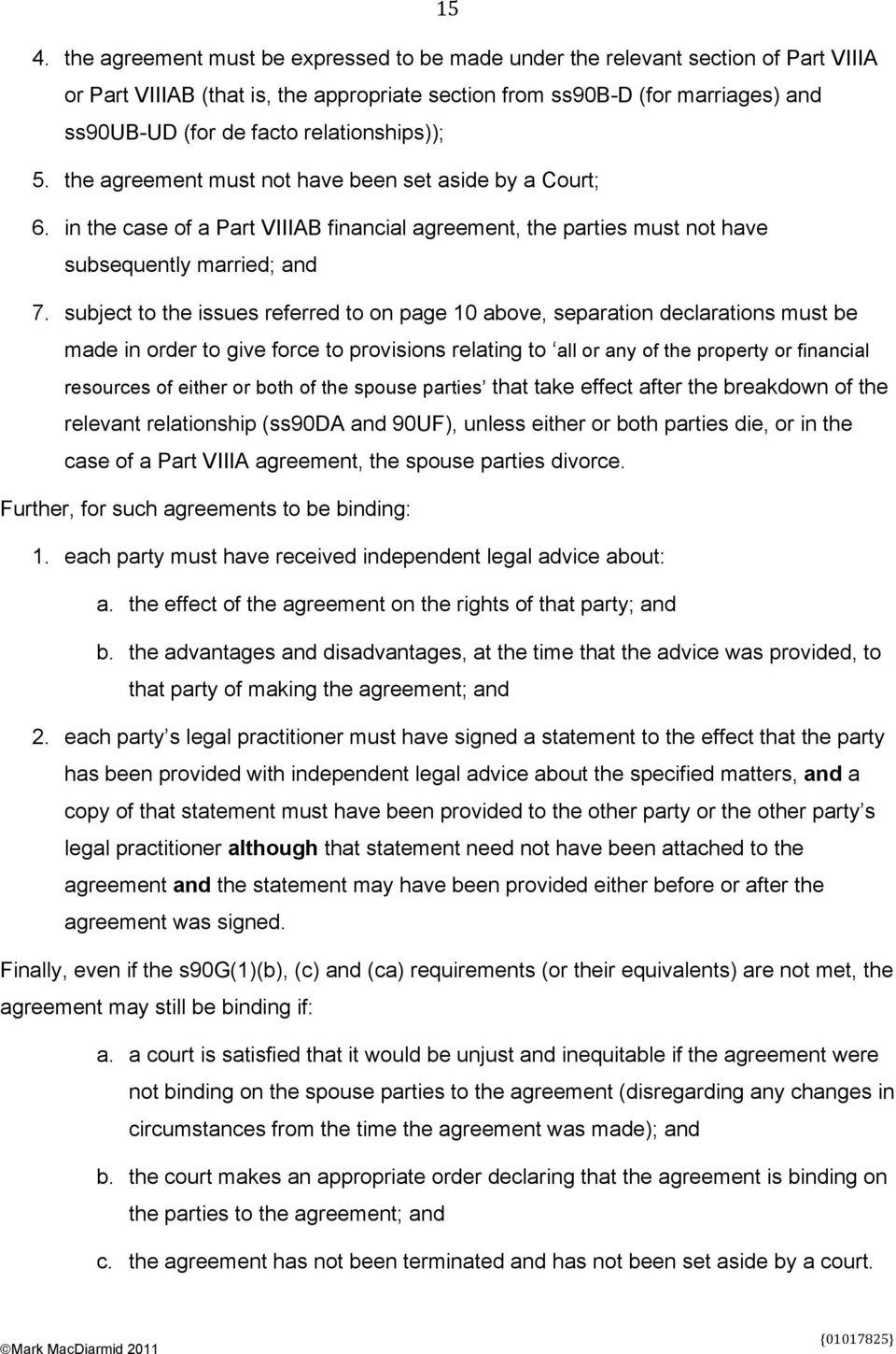 Binding Financial Agreements Do The Reforms Make Any Difference Pdf