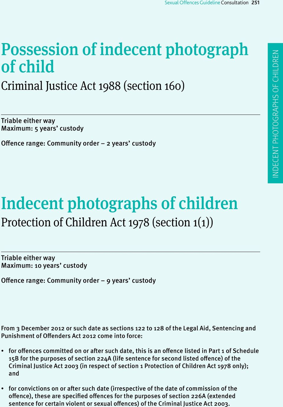 Sexual offences act 2003 sentencing can