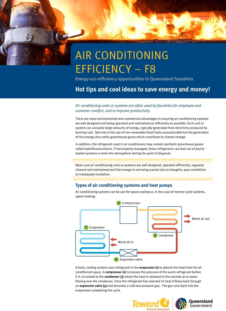 There are many environmental and commercial advantages in ensuring air conditioning systems are well designed and being operated and maintained as efficiently as possible.