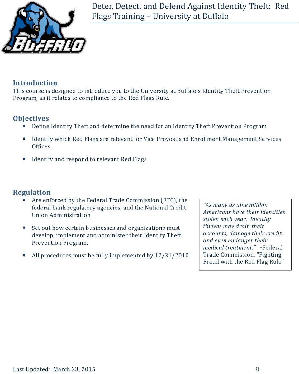 ferpa form university at buffalo  Identity Theft and Data Protection - PDF Free Download