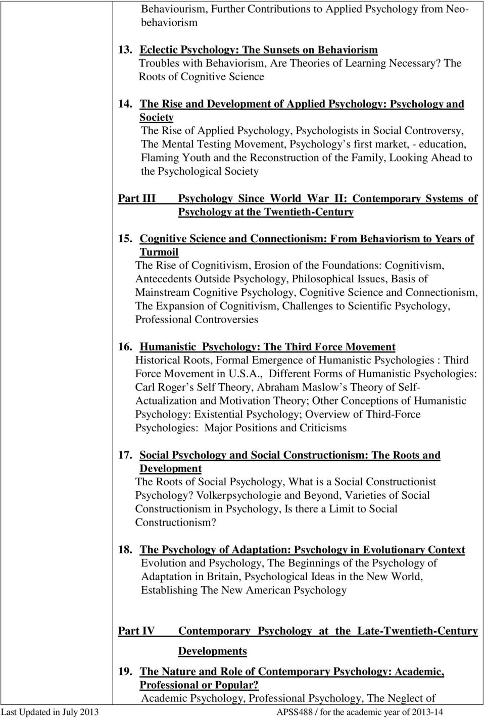 psychology without foundations history philosophy and psychosocial theory