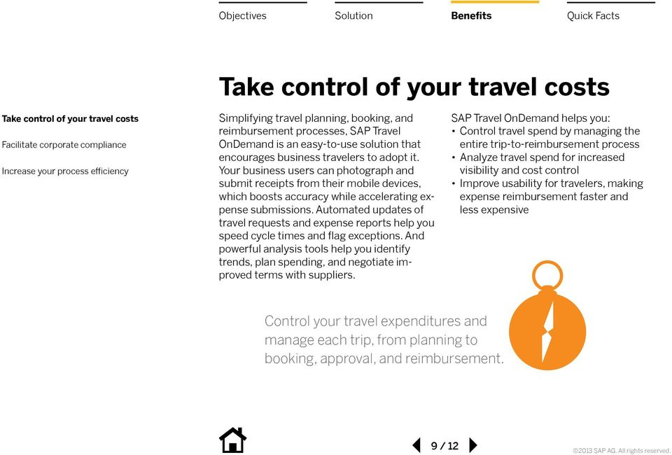 SAP Travel OnDemand Solution An Easier Way to Travel - PDF