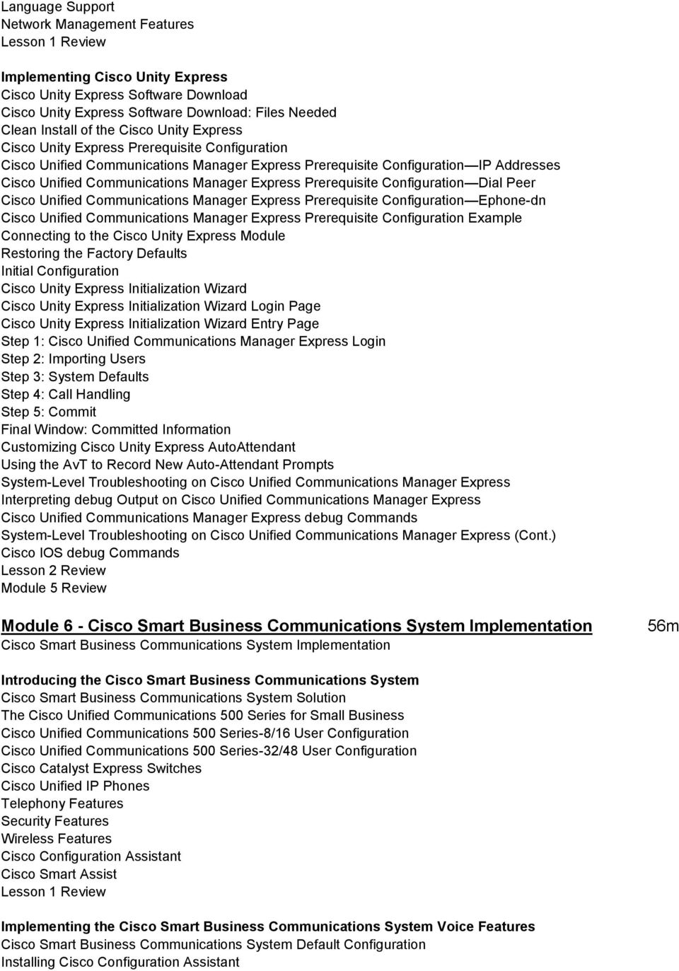 Implementing Cisco IOS Unified Communications (IIUC) - PDF