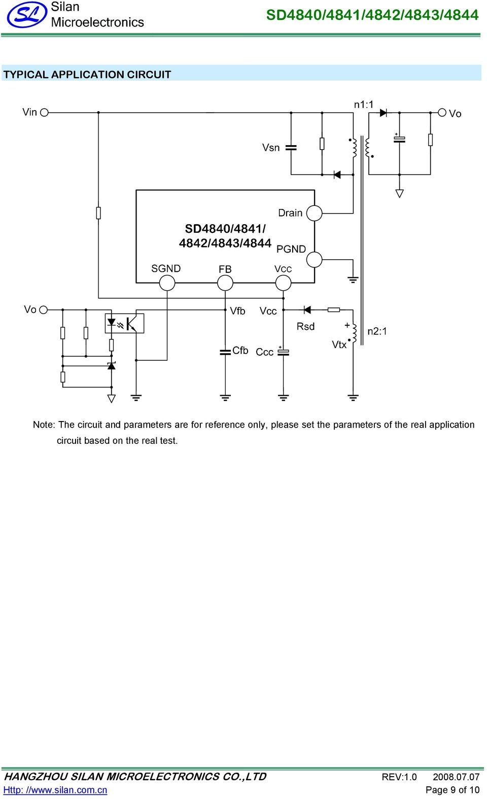 Sd4840 4841 4842 4843 Pdf Lm2576 In The Battery Charging Circuit Application Parameters Of Real Based