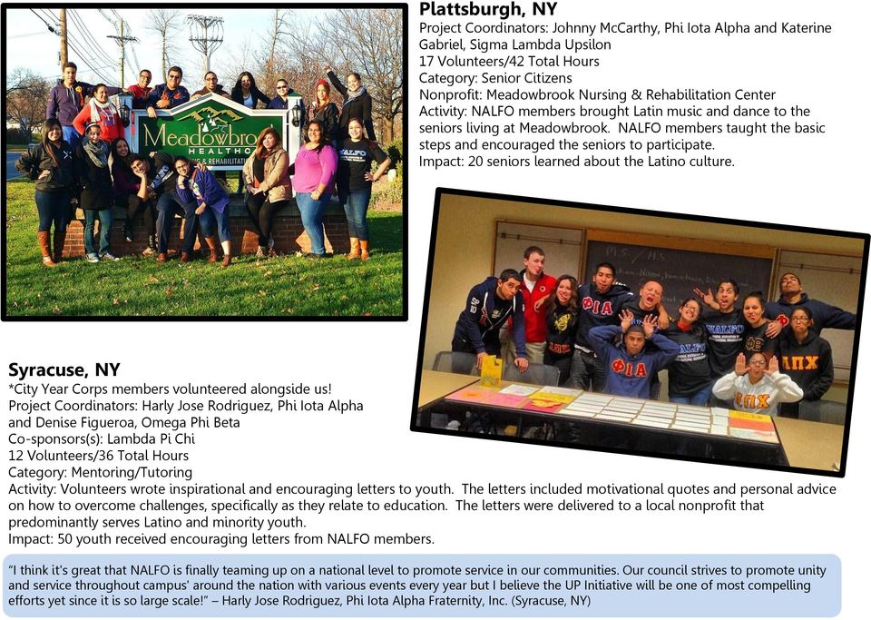 NALFO National Day of Service Wrap UP - PDF