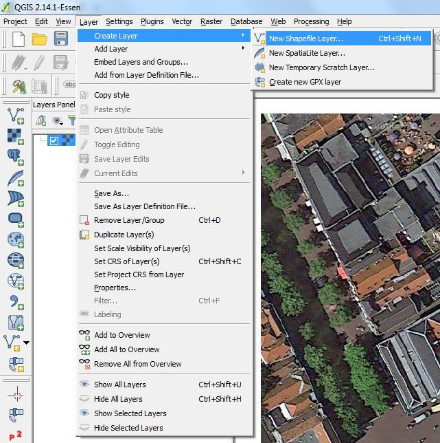 Exercises Open Source Software for Preprocessing GIS Data