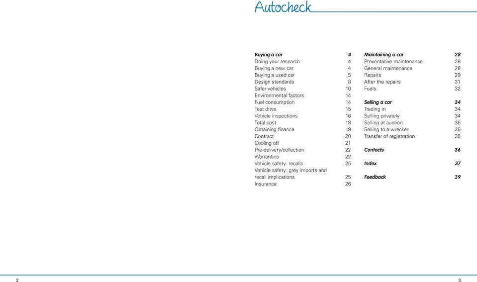 Autocheck  Your guide to buying and maintaining a car  drive