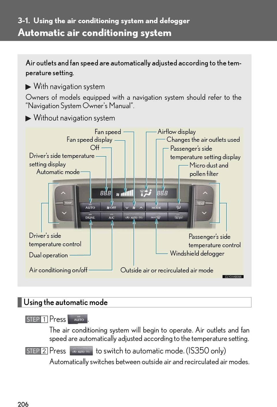 Automatic air conditioning system - PDF