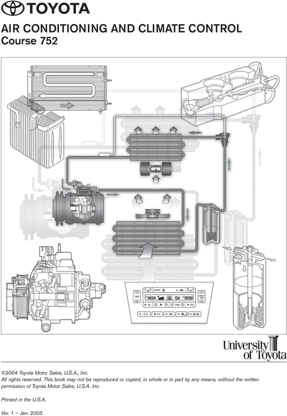 Air Conditioning And Climate Control Course Pdf Portable Electric Space Heaters Likewise Furnace Fan Limit Switch This Book May Not Be Reproduced Or Copied In Whole Part By Any