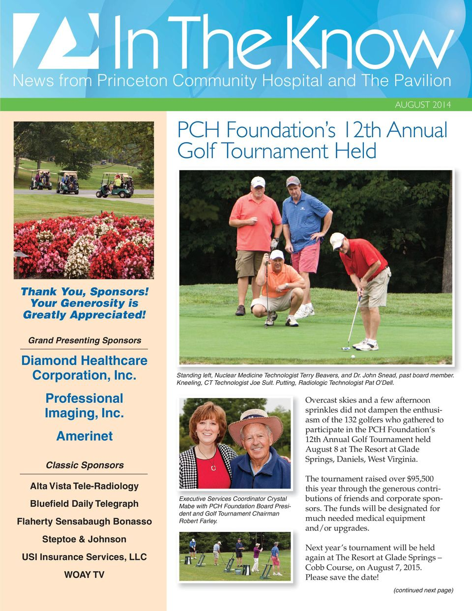 PCH Foundation s 12th Annual Golf Tournament Held - PDF