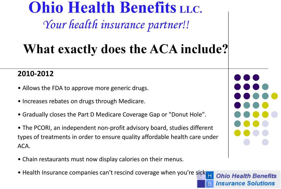 Affordable Health Insurance >> Ohio Health Benefits Llc Your Health Insurance Partner Pdf