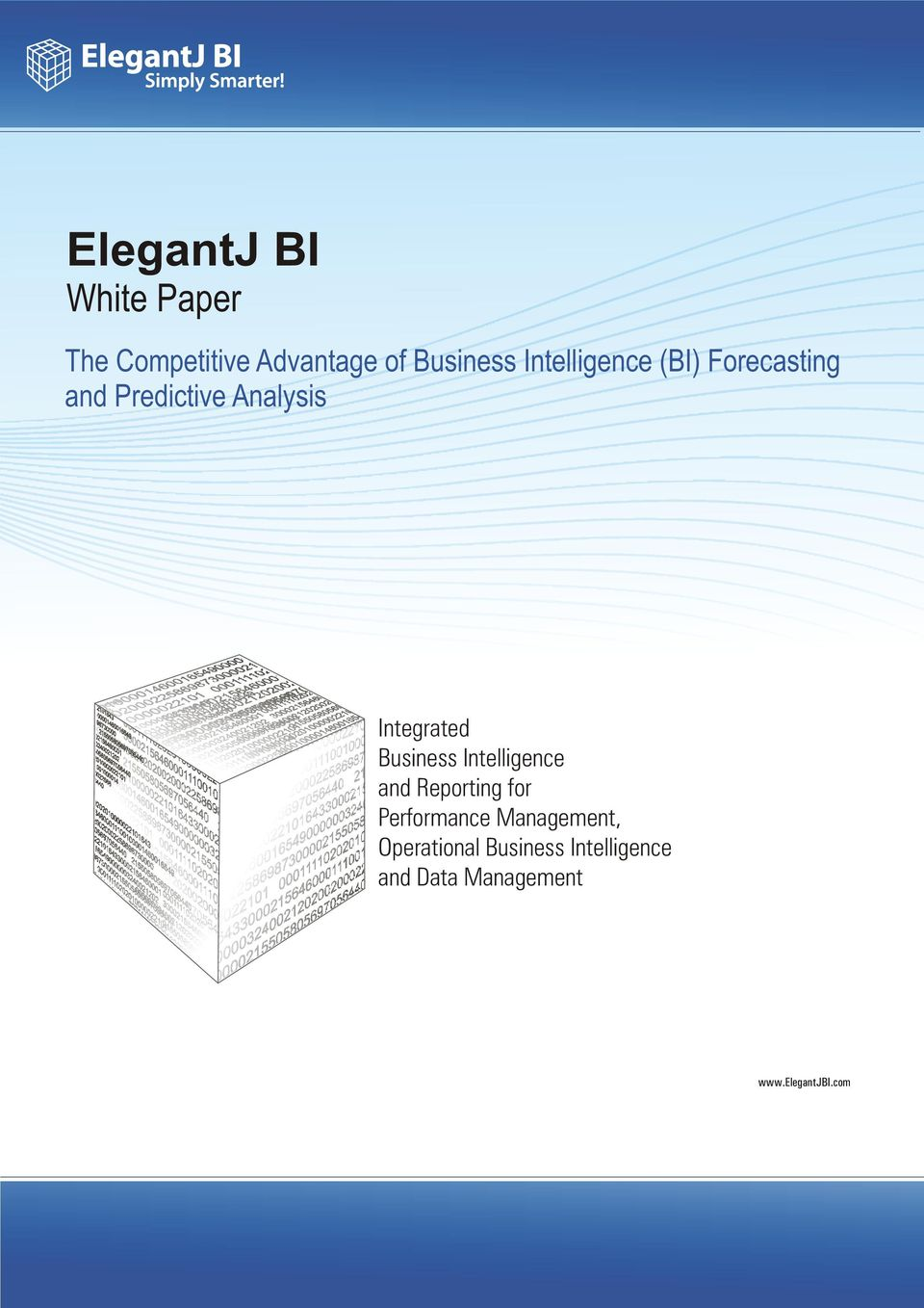 Business Intelligence and Reporting for Performance Management,