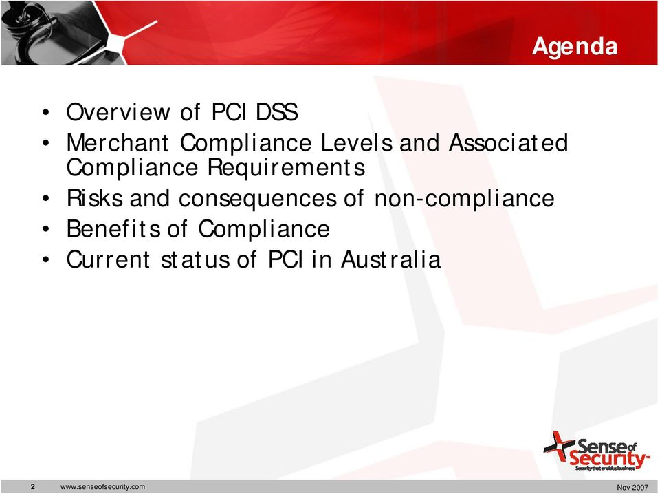 consequences of non-compliance Benefits of Compliance