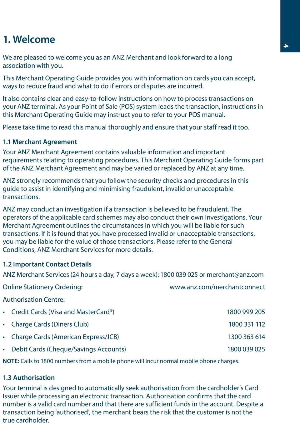 Merchant Operating Guide  ANZ POS Plus 2 SIMPLE AND RELIABLE