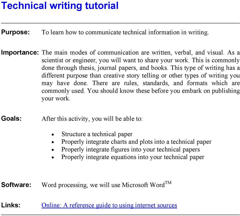 Twb video tutorial technical writing youtube.