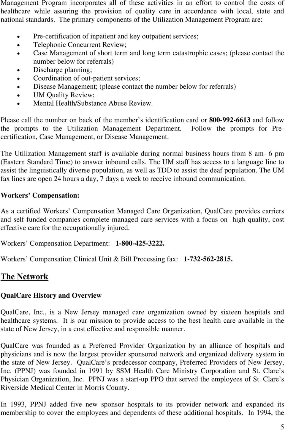 Welcome To Qualcare Inc Pdf