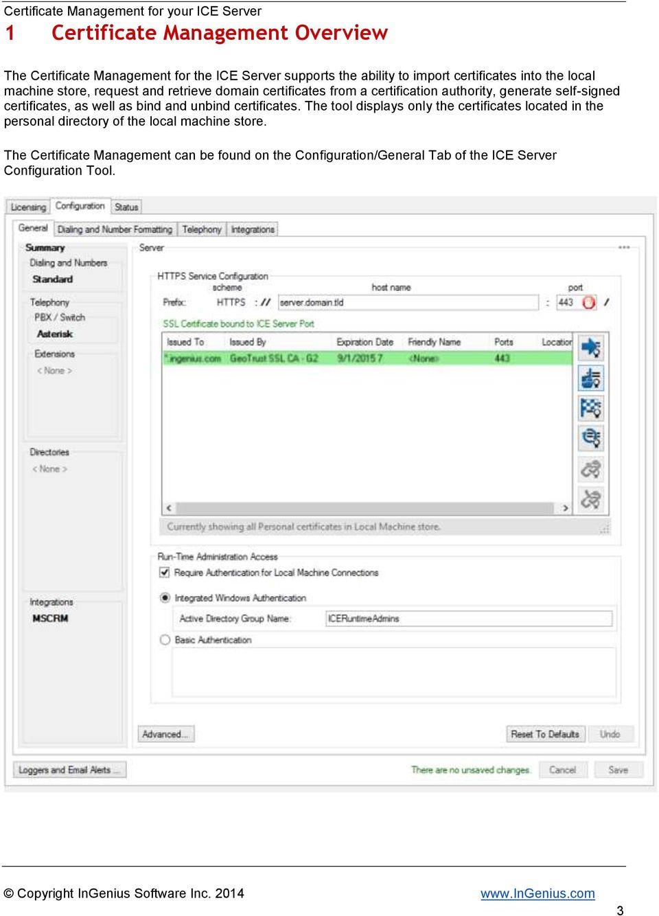 Certificate Management For Your Ice Server Pdf