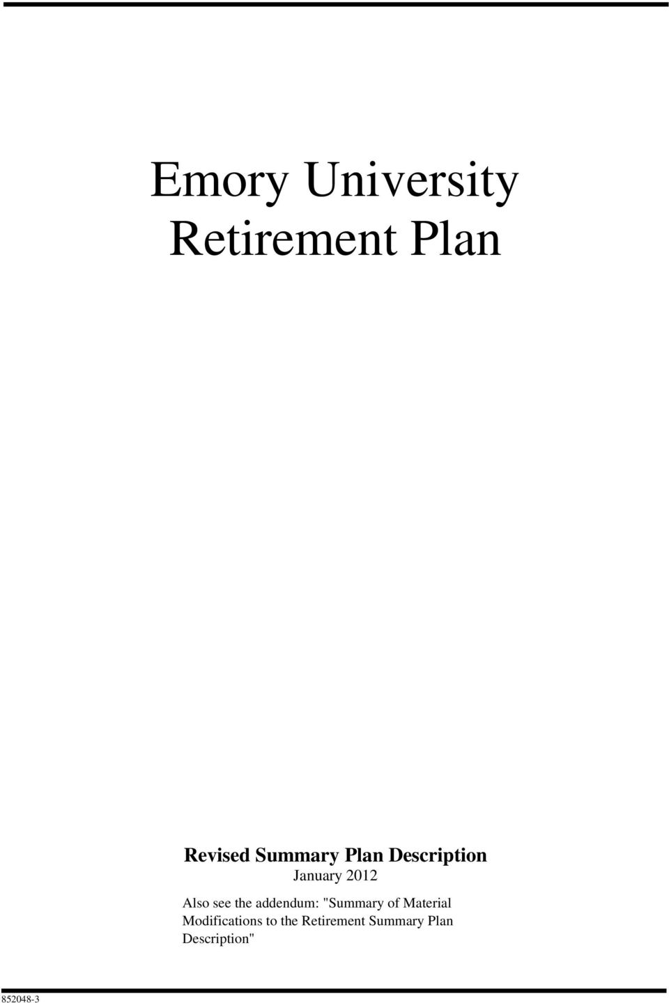 emory university annuity investment policy