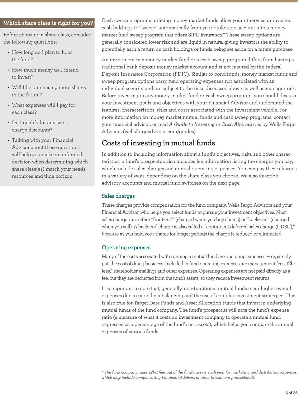 A guide to investing in mutual funds - PDF