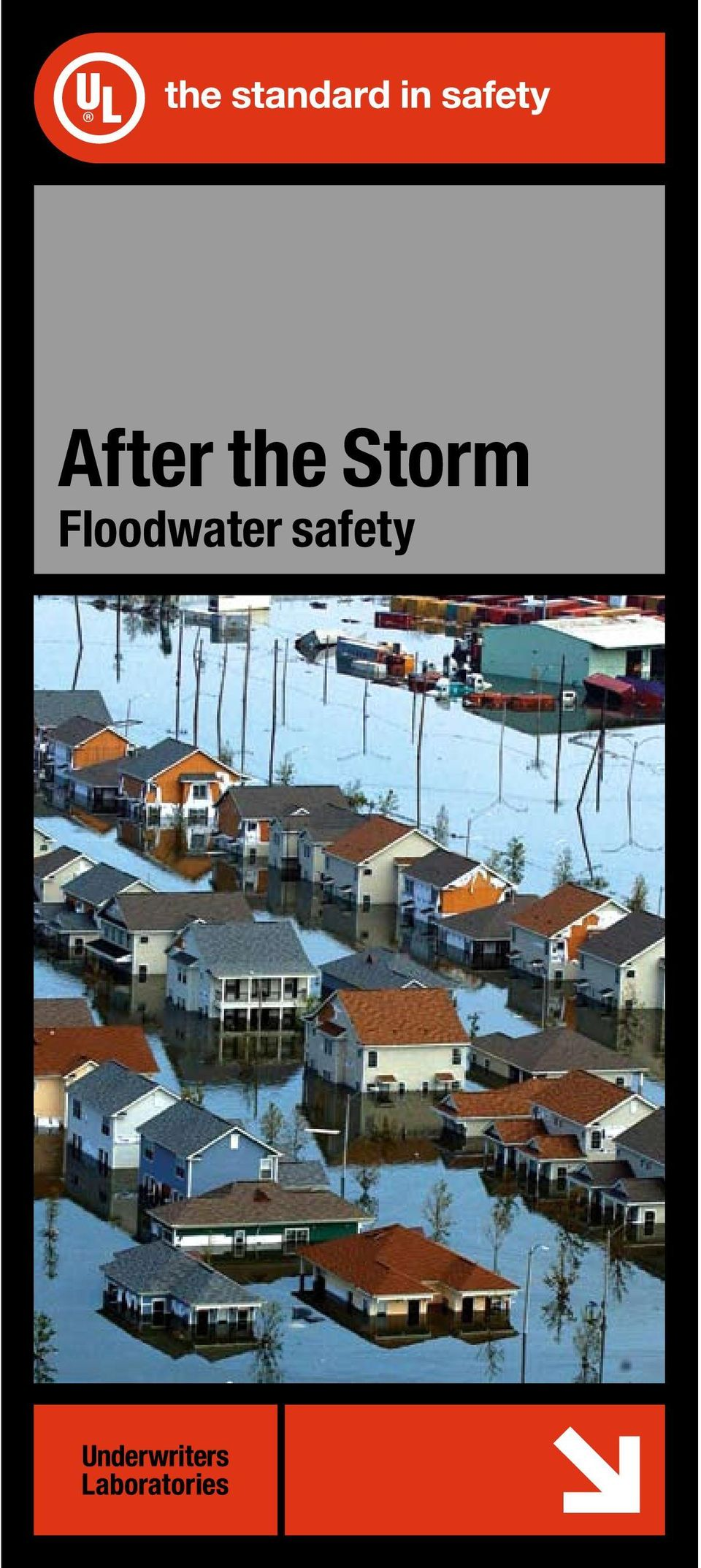 After the Storm  Floodwater safety - PDF
