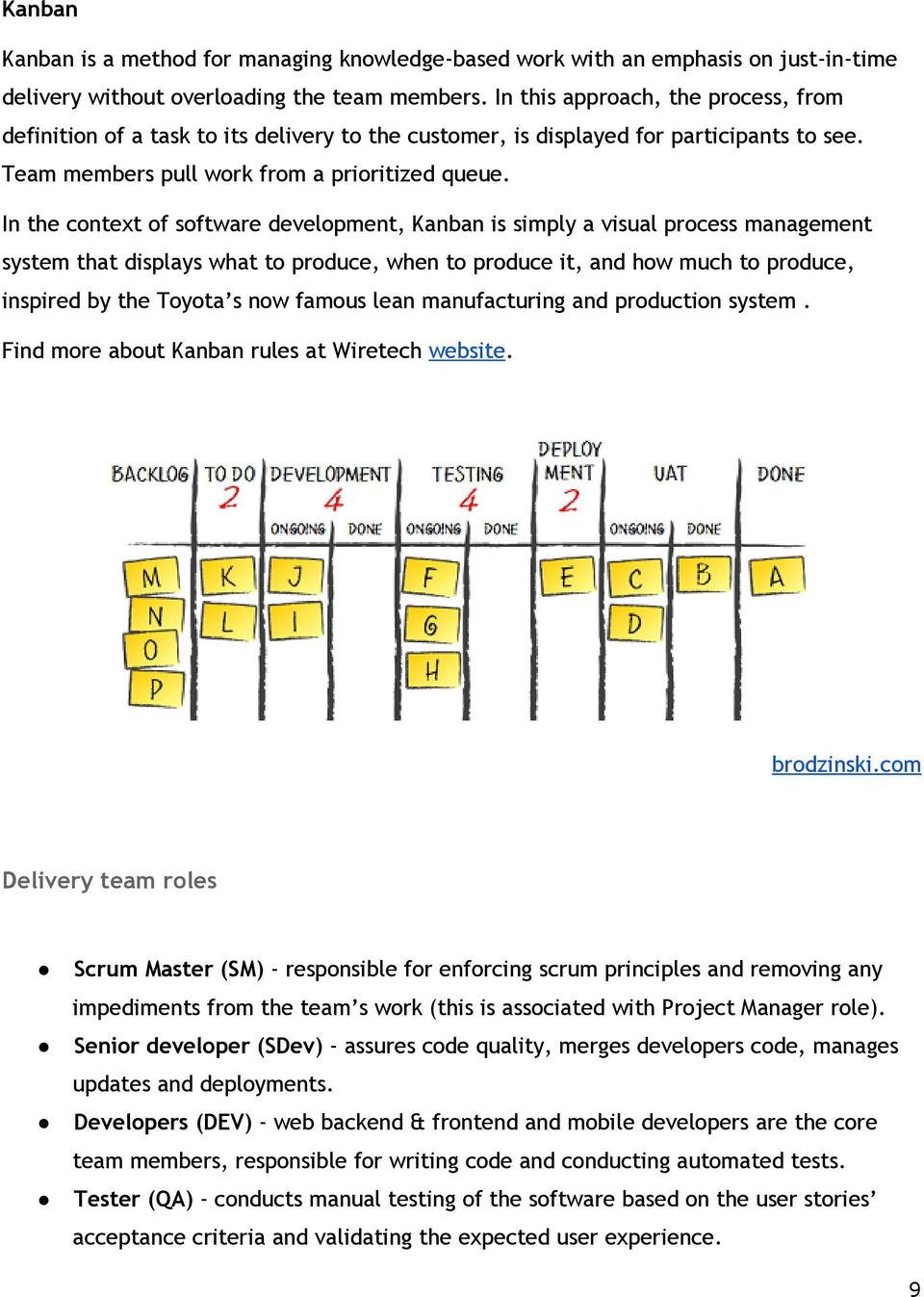 In the context of software development, Kanban is simply a visual process management system that displays what to produce, when to produce it, and how much to produce, inspired by the Toyota s now