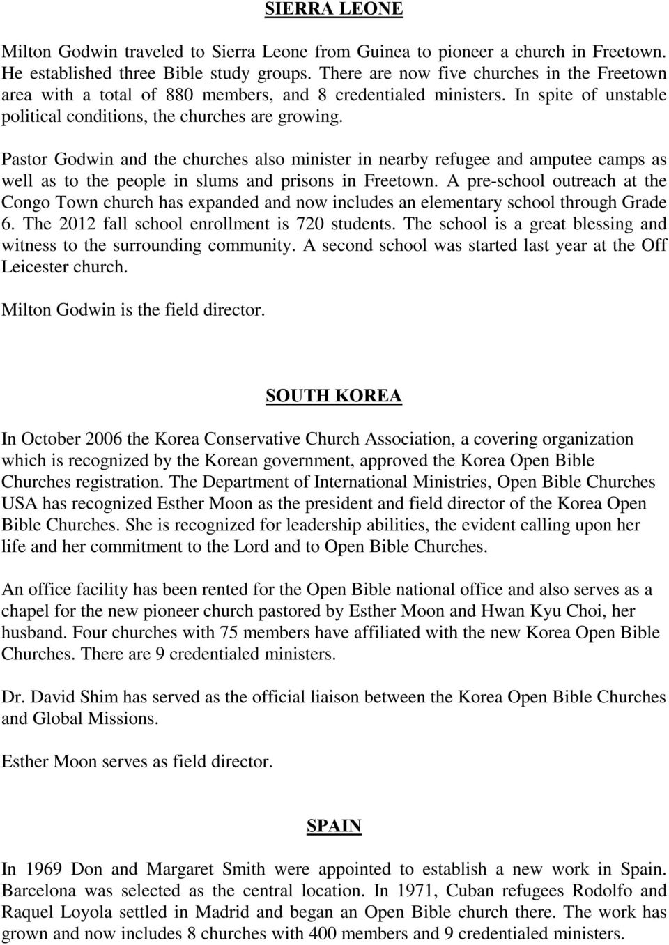 Global Missions of Open Bible Churches June PDF