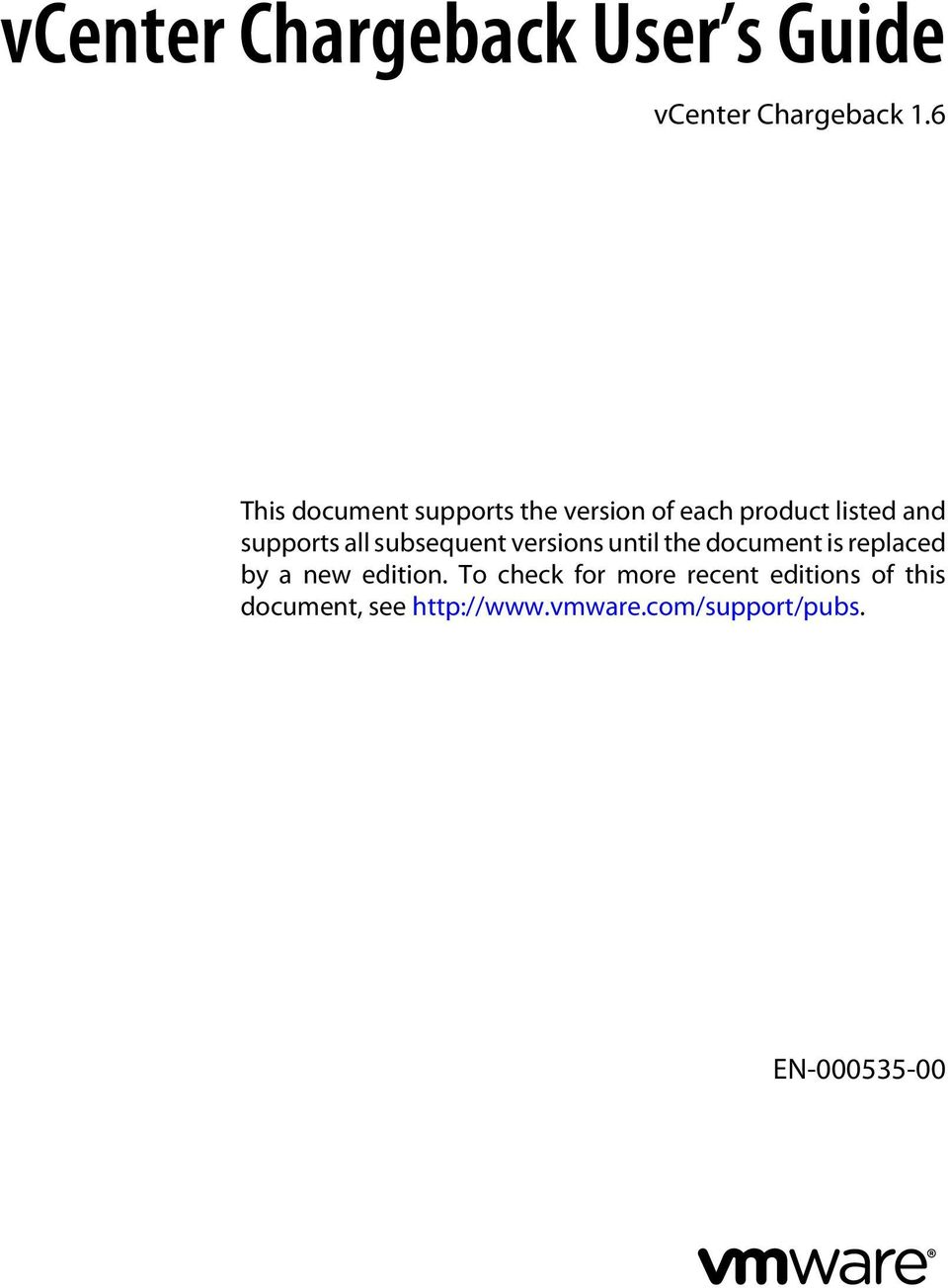 supports all subsequent versions until the document is replaced by