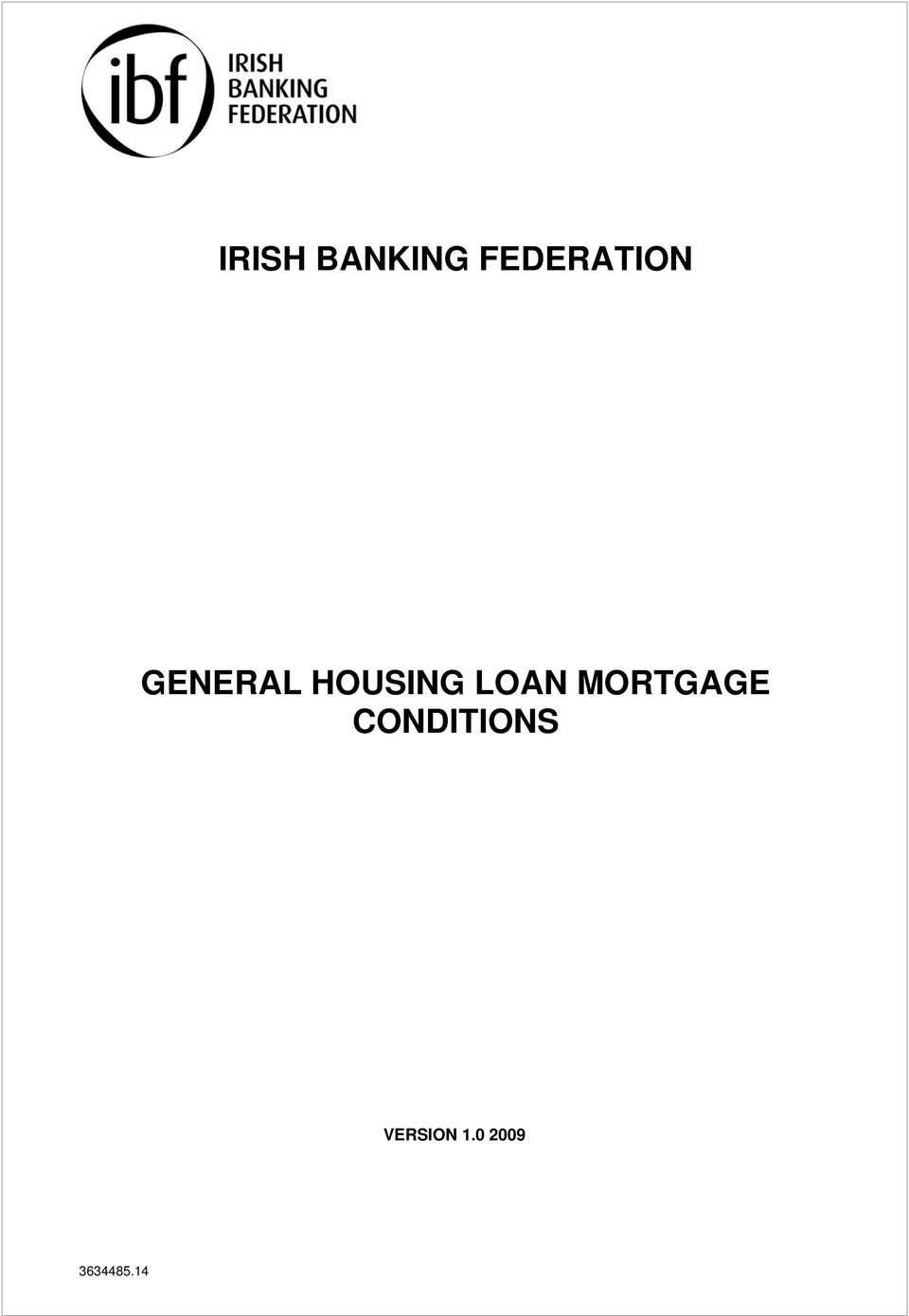 HOUSING LOAN MORTGAGE