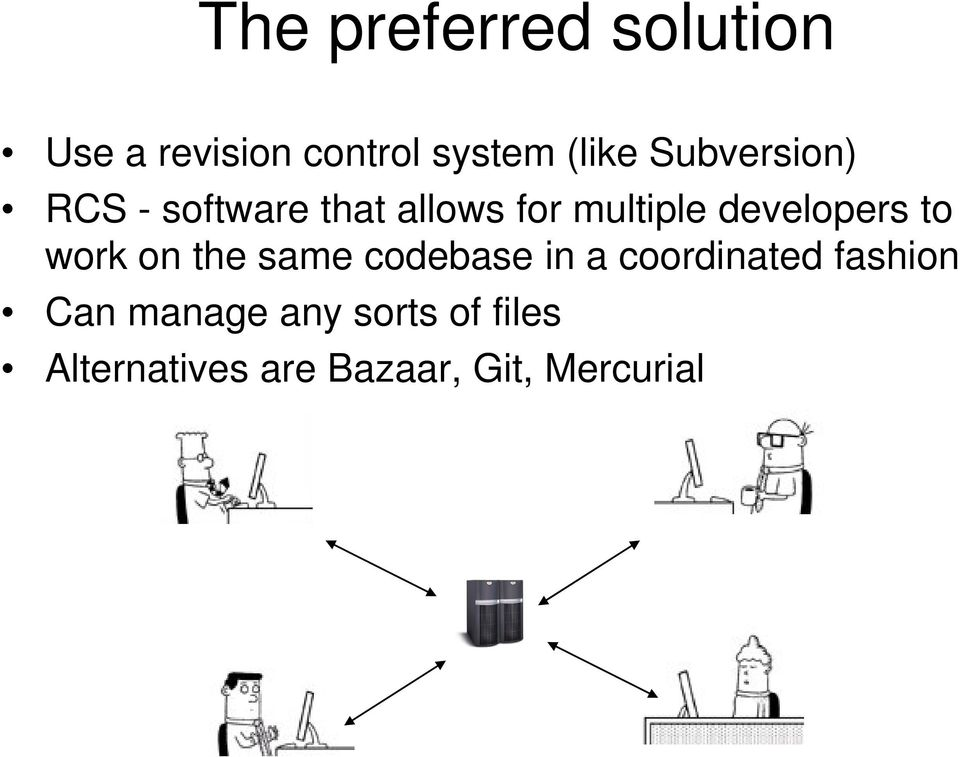 Revision control systems (RCS) and - PDF