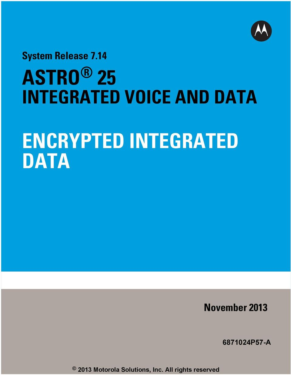 ENCRYPTED INTEGRATED DATA - PDF