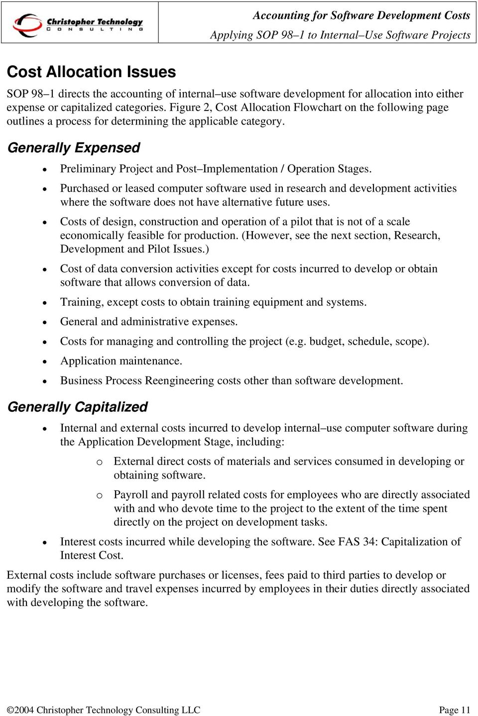 Accounting for Software  Development Costs - PDF