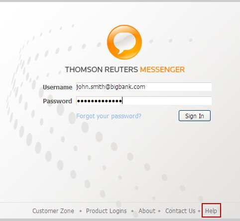 THOMSON REUTERS MESSENGER PRODUCT RELEASE NOTE - PDF