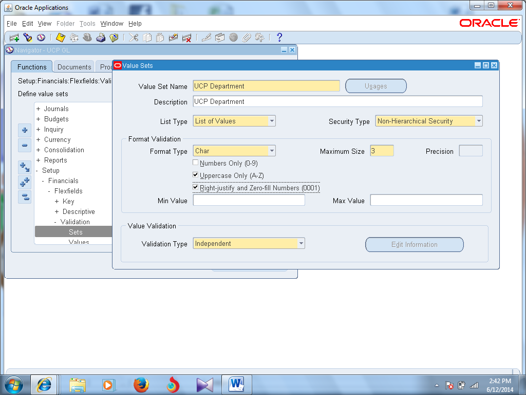 Oracle ERP Financials R12  Training Manual  General Ledger Setup and