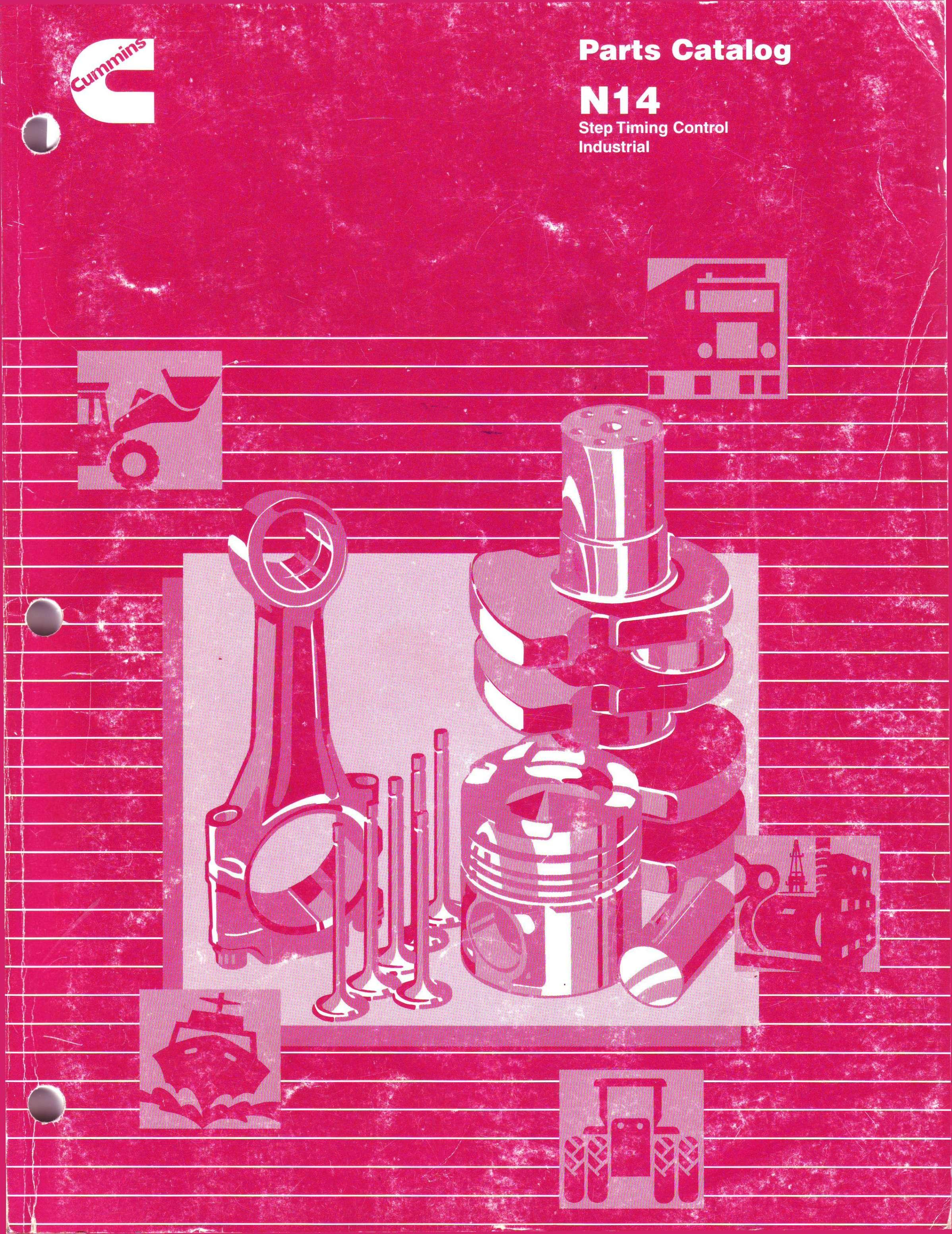 Parts Catalog N14  Step Timing Control Industrial ЕВ» - PDF