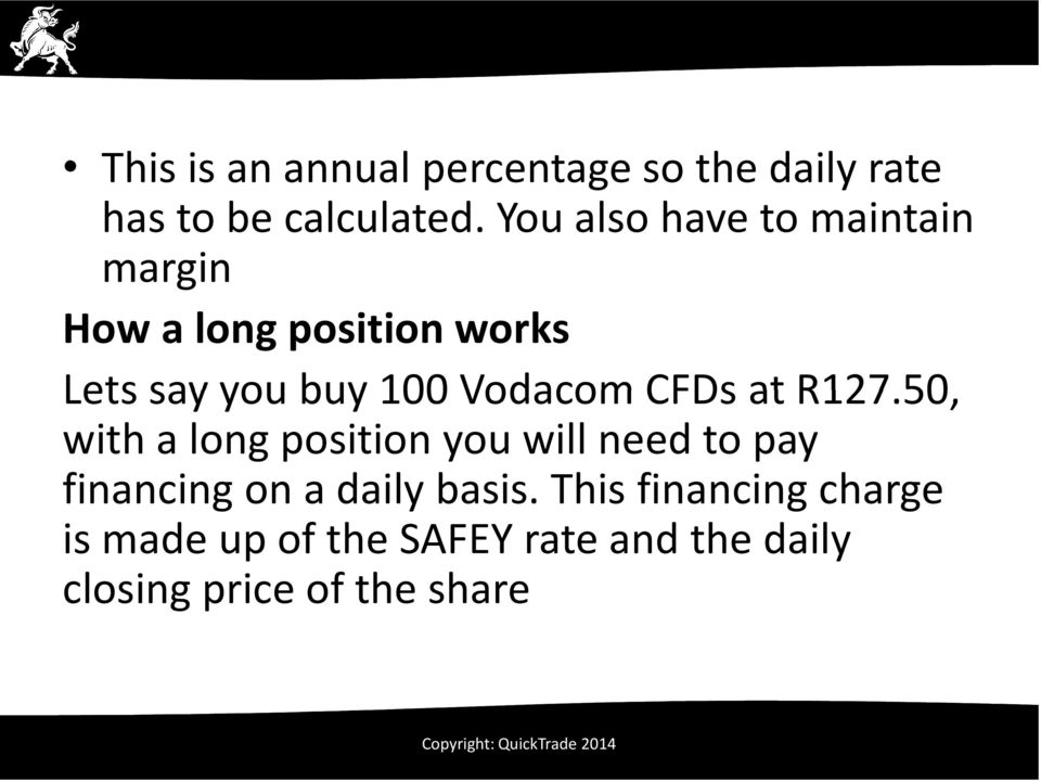 Vodacom CFDs at R127.