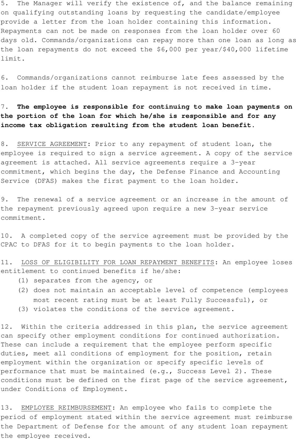 3 Year Loans >> Repayment Of Student Loans Procedures Pdf