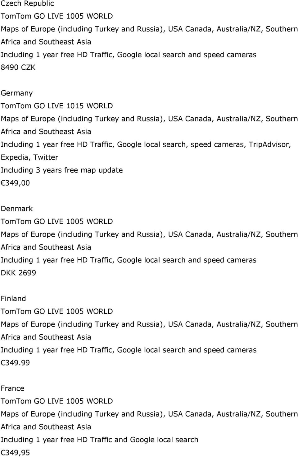 Canada GO 2535 TM World Traveller's edition Maps of North America